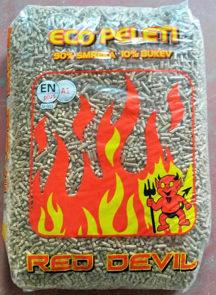 RED DEVIL pellets